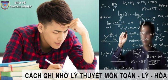Cách ghi nhớ lý thuyết các môn khối A