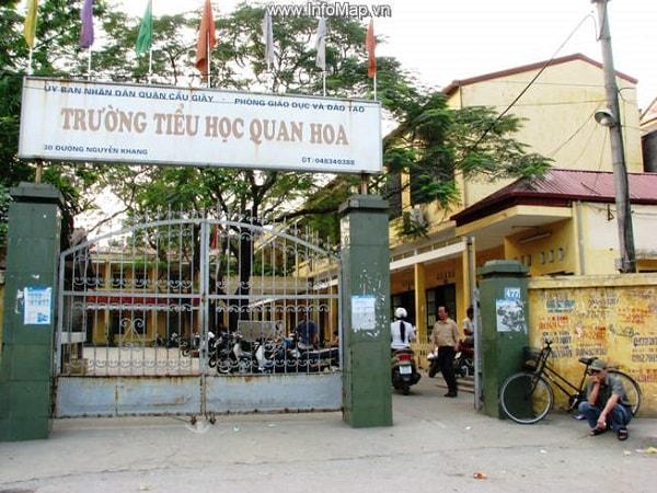 Trường tiểu học Quan Hoa