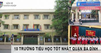 Trường tiểu học tốt nhất quận Ba Đình