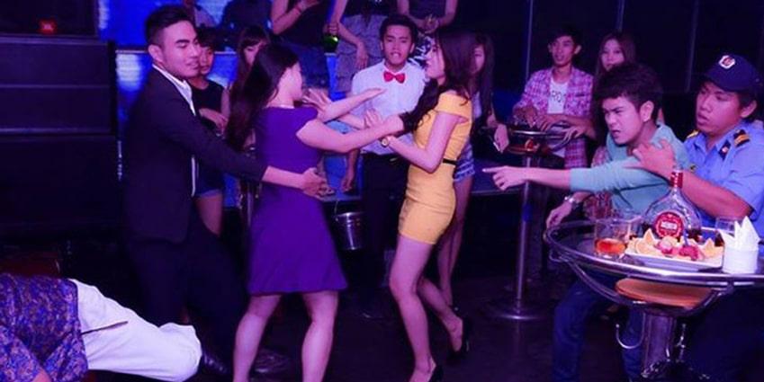 Người bảo vệ quán bar, vũ trường cần linh hoạt xử lý các tình huống gây rối thường xuyên xảy ra ở nơi này
