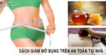 Cách giảm mỡ bụng trên tại nhà nhanh chóng