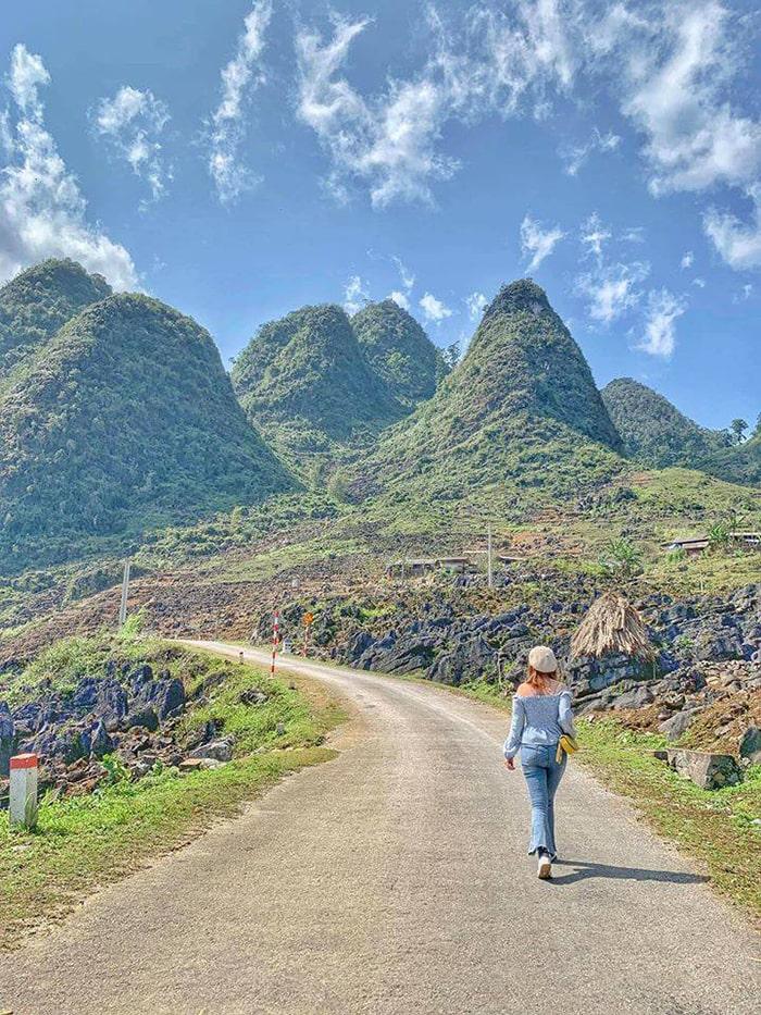 Cung đường trên Hà Giang tuyệt đẹp