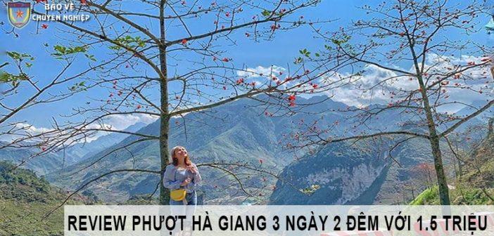 Kinh nghiệm phượt Hà Giang 3 ngày 2 đêm với 1.5 triệu