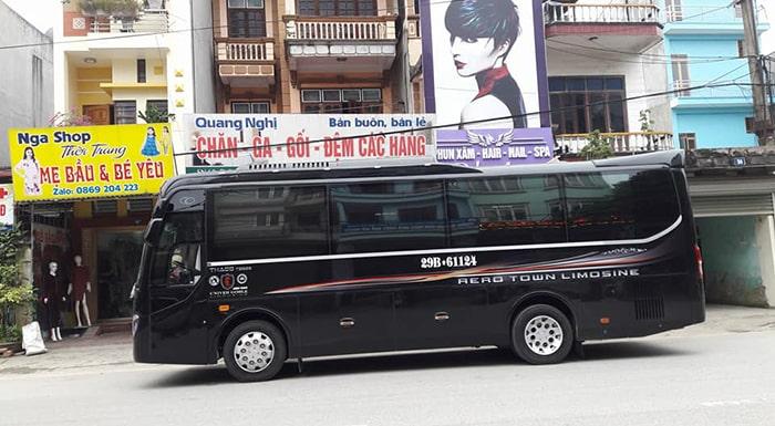 Xe khách lên Hà Giang có rất nhiều