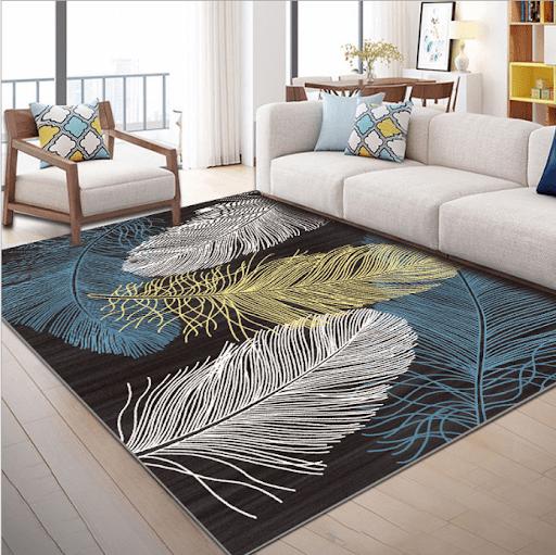 Thảm trải sàn giúp không gian ấm cúng hơn