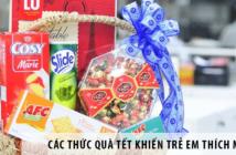 Các thức quà Tết khiến trẻ em thích mê